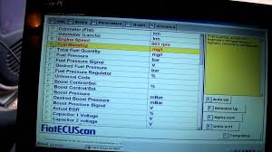 fiat ecu scan youtube