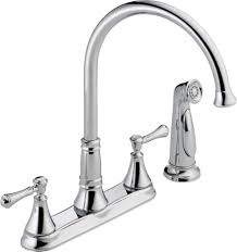 Kitchen Faucet Plumbing Delta 2497lf Main Lg Faucet Cz Cassidy Two Handle Kitchen With