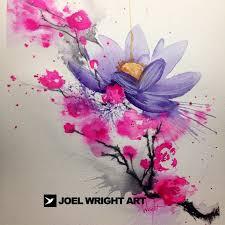 watercolor flower tattoos joel tatts pinterest flower