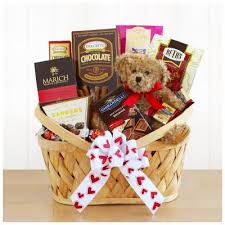 valentines day gift baskets i come ing chocolate s day gift basket from shop