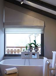 Blinds For Angled Windows - angled roman blind for that awkward window shape inspiration