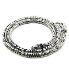 round chain necklace images Thick round chain necklace sterling silver jpg