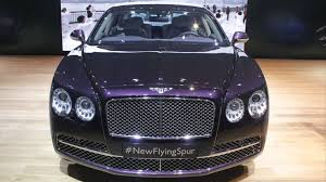 2017 bentley flying spur custom 2015 model bentley continental flying spur youtube