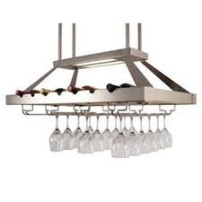 hanging wine glass racks ceiling ceiling or wall mount wooden
