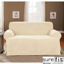 T Cushion Sofa Slipcover by Living Room Awesome Image Of Living Room Decoration Using Light