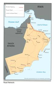 Map Of Oman Oman Maps