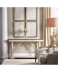 sanctuary 4 drawer console table great deals on hooker furniture leesburg console table tables