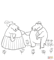 george and martha are best friends coloring page free printable