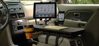 Car Office Desk Journidock With And Iphone Great For The Person Who Works
