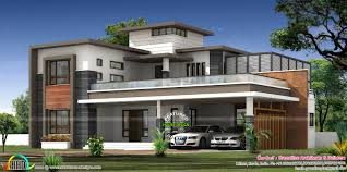 kerala home design flat roof elevation may 2016 kerala home design and floor plans