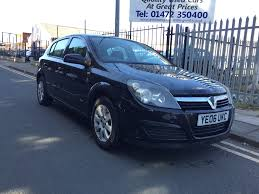 vauxhall astra 2001 used vauxhall astra club for sale motors co uk