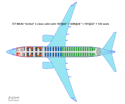 757 Seat Map Boeing 737 Max 8 As A Long And Thin Aircraft And How It Fares In