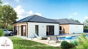 plan maison contemporaine plain pied 4 chambres maison moderne plain pied plan maison moderne mahac 115 a 145 ma