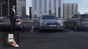 animation audi a8 audi ai parking pilot and garage pilot tv
