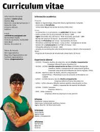 Sample Resume Curriculum Vitae by Plantillas Curriculum Vitae Ecro Word Faire Un Cv Pinterest