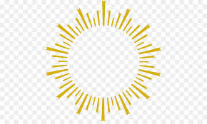graphic design golden sun rays personality png 505