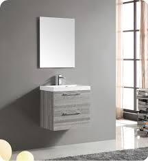 wall mounted bathroom vanity in dark cherry decora cabinets