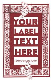 free label template for word free label templates wine bottle with a blank label lavish