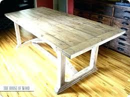 rustic dining table legs making trestle table legs nhmrc2017 com
