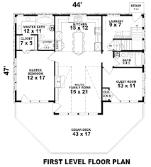 Country Style Floor Plans Country Style House Plan 3 Beds 2 00 Baths 1900 Sqft 430 56 Plans