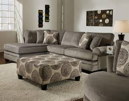 Albany Sectional Sofa Albany Groovy Smoke Sectional Sofa With Left Facing Chaise 8642