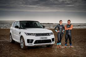 land rover sports car the 2018 range rover sport isn u0027t afraid of dipping into the sea