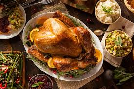 give thanks to the restaurants providing turkey dinners this