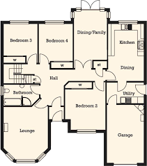 best bungalow floor plans best bungalow floor plans 4 bedroom bungalow floor plans 7 fresh