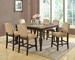 counter height dining room table sets counter height dining table seats 8 captivating dining table
