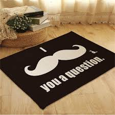 Bathroom Accent Rugs by Moustache Suede Square Rugs Outdoor Mats Bathroom Home Area Rugs
