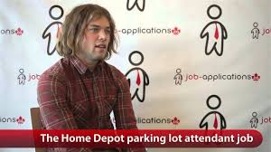 Lowes Cashier Salary The Home Depot Parking Lot Attendant Job Youtube