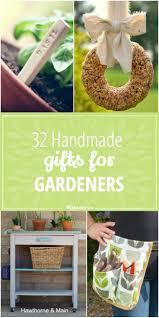 Gardener Gift Ideas 32 Handmade Gifts For Gardeners Gift Gardens And Craft