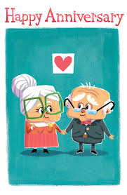 anniversary card anniversary card grow together happy anniversary card pickle