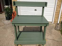 Free Wooden Potting Bench Plans by Diy Potting Bench Myoutdoorplans Free Woodworking Plans And