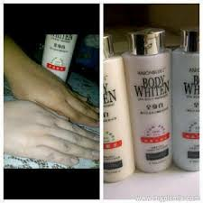 Handbody Pemutih anion lation call 081381111519 whitening lation korea