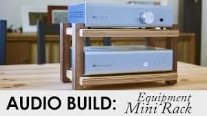 Diy Audio Rack Kirby Meets Audio Viyoutube Com