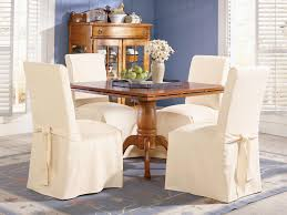 decor astounding beige ribbon slipcover for parson chair with