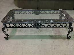 coffee table interesting glass and marble coffee table minimalist