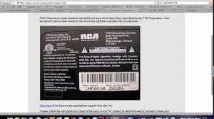 rca hd tv no universal remote codes youtube