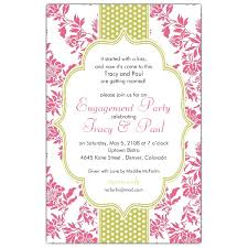fancy invitations fancy coral lime dot engagement invitations paperstyle