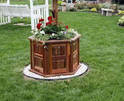 wishing well style flower planter by knifeblock lumberjocks