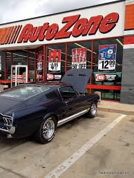 Autozone Help Desk My 1967 Mustang Fastback How Much Does A Classic Car Cost Dad