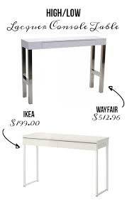 Low Console Table Time To High Low Console Tables The Accent