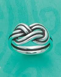 avery heart knot ring child s cherished heart ring stacked ring tiny hearts band