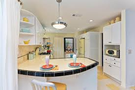 sunny yellow retro inspired kitchen jackson design and