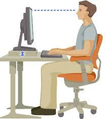 Proper Computer Desk Setup Be Smart About Ergonomics Workstation Setup Guidelines Ucop