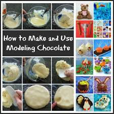 How To Make Decorative Chocolate Modeling Chocolate Recipe Candy Clay Or Chocolate Clay