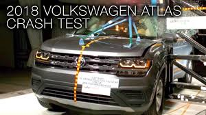 volkswagen atlas interior sunroof 2018 volkswagen atlas pole crash test youtube