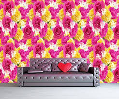 roses wall mural flowers photo wallpaper art poster red roses wall mural flowers photo wallpaper art poster
