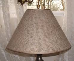 Burlap Chandelier Shades Burlap Lamp Shades For Chandeliers The Burlap Lamp Shade And Its